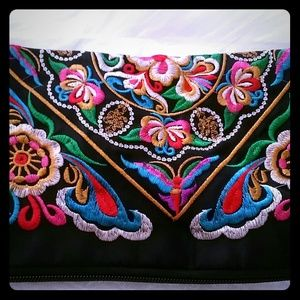 Handbags - EMBRODIERED ETHNIC PURSE